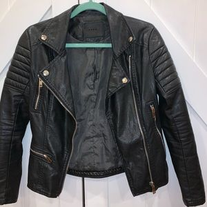 Jackets & Coats - Black leather jacket